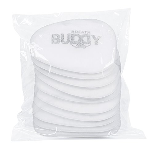 Breath Buddy Respirator Mask Replacement Filter | 10 Pack of Particulate Respirator Filters for Effective Care Against Dust, Asbestos, and Non-Oil Based Particles