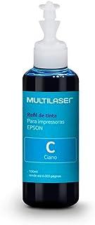 Refil de Tinta para Impressoras Epson 100ml Cor Ciano Multilaser - RF006