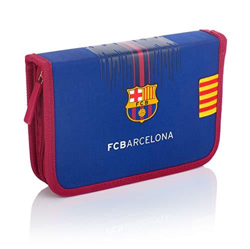 FC Barcelona FC-234 Barcelona Barca Fan - Estuche con Accesorios (2 Compartimentos,...