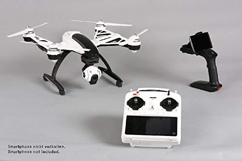 Yuneec Q500+ - Drones con cámara (Negro, Color Blanco, Polímero de Litio, MicroSD, 1080p, MicroSD (TransFlash), USB)