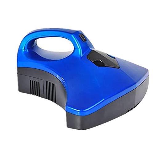 Mijten UV Bedstofzuiger Handheld met UV-lichtsterilisator, Stofmijtreiniger Doodt 99,9% van de bacteriën voor stoffering, Matrassen, Kussens, Gordijnen, Banken, Tapijten,Blue