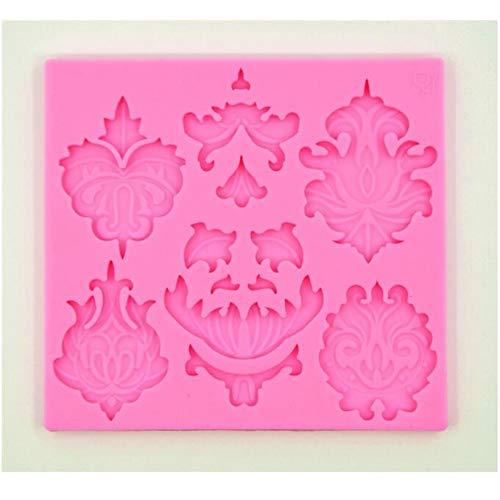 Fondant Cake Decorating Tools The 3d Lace Cake Decorating Mold Bakeware Food Grade Liquid Chocolate Molds Environmental