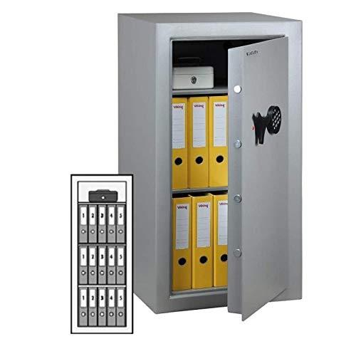 Wertheim Möbeltresor VB35, Elektronikschloss M-Locks EM3520 inkl. Notstromversorgung, Klasse B nach VDMA 24992, H131.5xB52xT43.6 cm, 130 kg