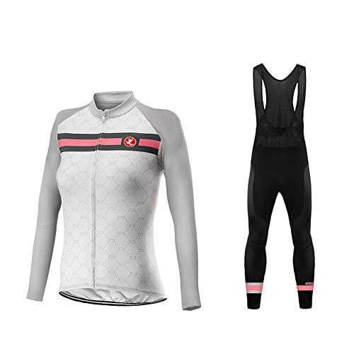 Uglyfrog Completo Abbigliamento Ciclismo Set 2018 Nuovo Donna Invernale, Tuta Ciclismo Termico...