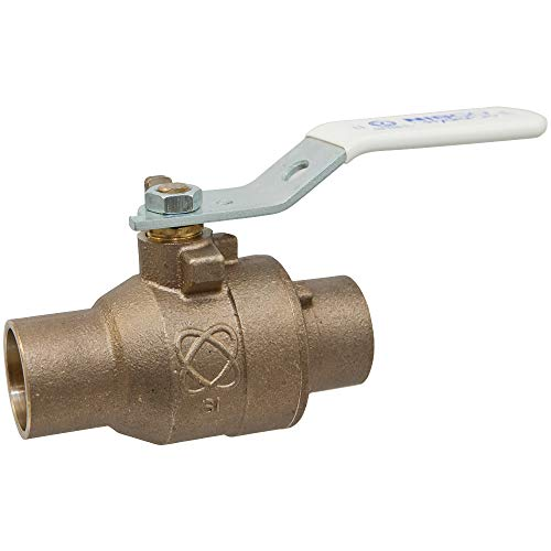 NIBCO GIDDS-290860 Press Ball Valve 1/2', Lead Free