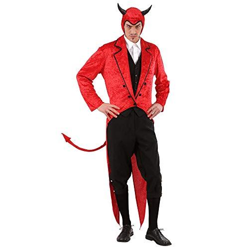 Widmann 57282 Kostüm Lucifer, Schwarz/Rot, M