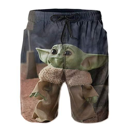 WJJSXKA Baby Yoda Men