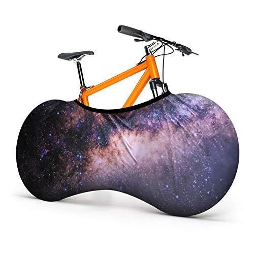 Aceshop Copertura Antipolvere per Bicicletta Copertura per Ruota della Bicicletta per Interni ed Elasticizzata Lavabile Anti Polvere Vento Protezione da Viaggio UV Copertura per Tutte Le Biciclette