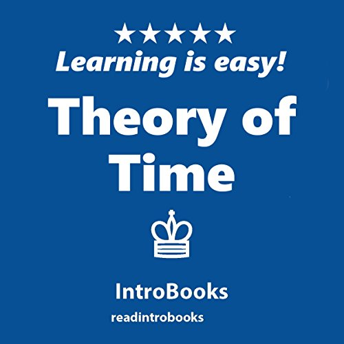 Theory of Time audiobook cover art