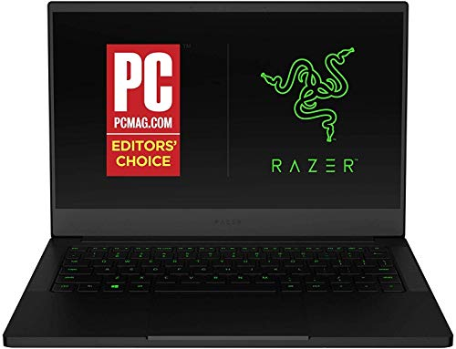 Razer Blade Stealth 13 Ultrabook Gaming Laptop: Intel Core i7-1065G7 4 Core,NVIDIA GeForce GTX 1650 Max-Q,13.3' FHD 1080p 60Hz,16GB RAM,512GB SSD, CNC Aluminum,Chroma RGB,Thunderbolt 3,Black-(Renewed)