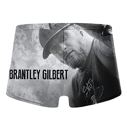 YYRR Brantley Gilbert - Bañador para hombre negro XL