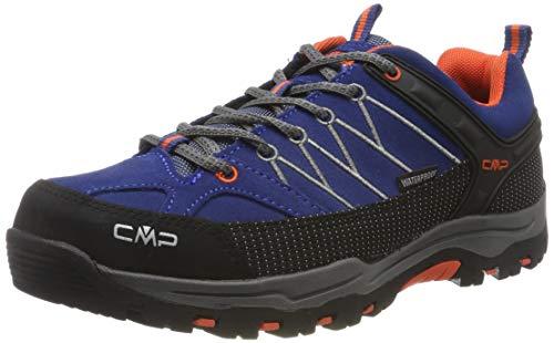 CMP Unisex-Kinder Kids Rigel Low Shoes Wp Trekking-& Wanderhalbschuhe, Blau (Marine-Tango 05md), 40 EU