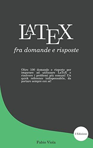 LaTeX fra domande e risposte