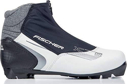 Fischer Langlaufschuhe XC Pro MY Style, Schwarz/weiß, Gr Botas de esquí de Fondo (Talla, Unisex Adulto, Negro Blanco, 39 UE