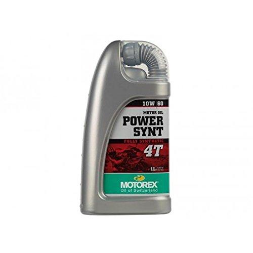 Huile moteur power synt 4t 10w60 bidon 1l - Motorex 551205