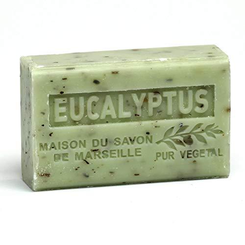 Französische Seife, Traditionelles Savon de Marseille - Eukalyptus 125g