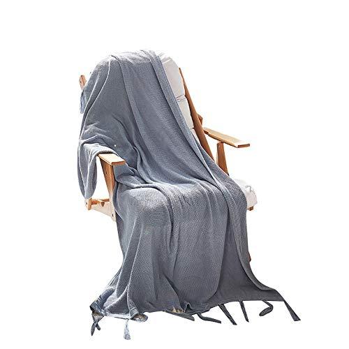 Manta de Sofá de Algodón de Punto para Bebé