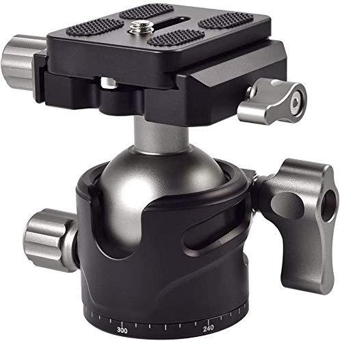 MENGS BH-36 Panorama Kugelkopf mit 360 ° drehbar Klammer + Schnellwechselplatte für DSLR Kamera Camcorder und Tirpod Kopf max. Belastung 10KG
