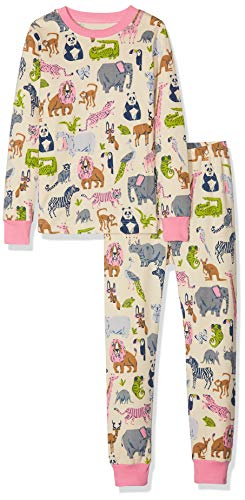 Hatley Organic Cotton Short Sleeve Printed Pyjama Sets Conjuntos de Pijama para Ni/ñas