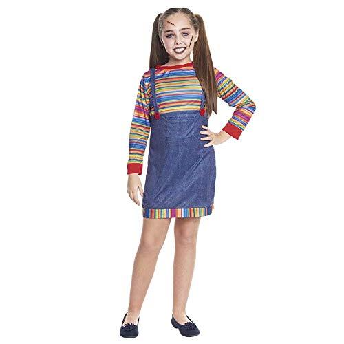 Disfraz Muñeca Asesina para niña (2-4 años) Halloween 200