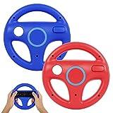 Volante per controller Wii, PowerLead 2 pezzi Volante da corsa compatibile con Mario Kart, Volante...