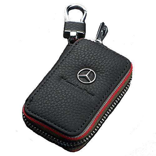 Sleutelhanger Lederen Auto Sleutelhanger Sleutelhanger Sleutelhanger Tas voor Mercedes Benz Co, Ltd. Coin portemonnee taille Trailer sleuteltas