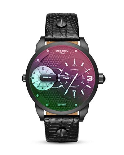 Diesel Damen-Uhren Analog Quarz One Size Leder 87314871