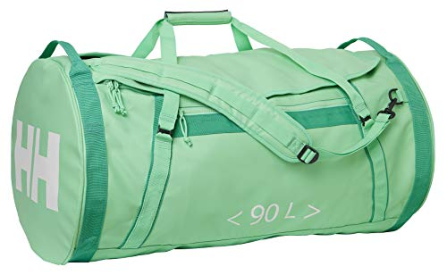 Helly-Hansen Unisex HH Duffel Bag 2 Water Resistant Packable Bag with Optional Backpack Straps, 492 Spring Bud, 90-Liter (X-Large)
