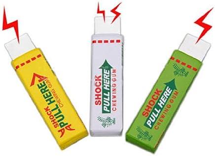 Dcolor 3X sicurezza della novita' dello shock elettrico da masticare gomma da masticare del bavaglio di trucco divertente di scherzo di burla