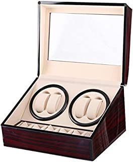 Wooden Automatic Watch Winder Storage Box Case 4 plus 6 Pcs