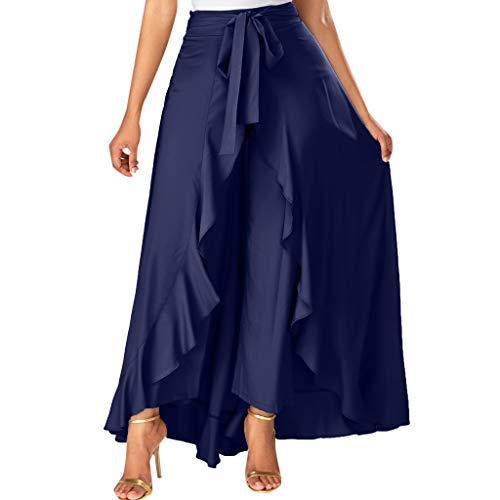 Brizz Dames Maxi Lange Swing gevouwen asymmetrische plisseerok rok, Faltige onregelmatige hoge taille plooien vintage losse strand wrap rok