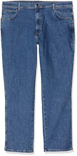 Wrangler Herren Regular Fit Jeans, Blau (Stonewash), W36/L32
