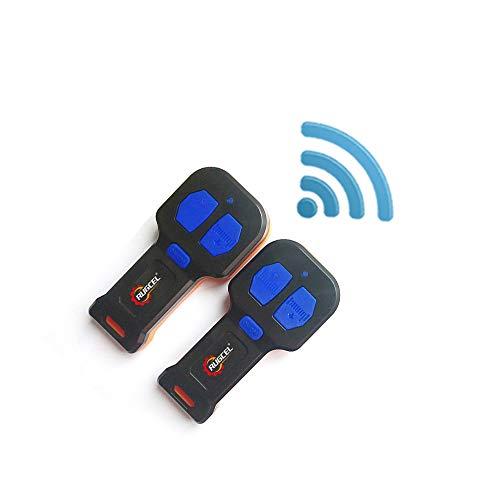 RUGCEL Recovery Wireless Winch 2 Remote Control Kit Handset Switch Car ATV SUV 12V (Black)