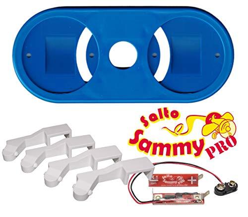 Erweiterungsadapter + Doppeldecker für Looping Louie Tuning 8 Spieler Adapter für 8 Personen Edition 2020 (Erweiterungsadapter + Doppeldecker + Salto Sammy Pro)