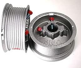 Garage Door Cable Drum, for up to 10' High Door, Standard Lift, 400-10 (Pair)