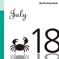 7月18日 My Birthday Book