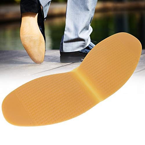 HeepDD Lederen schoenen, natuurrubber, antislip, voor platte schoenen, reparatie, tussenzool, pad voor reparatie van lederen schoenen