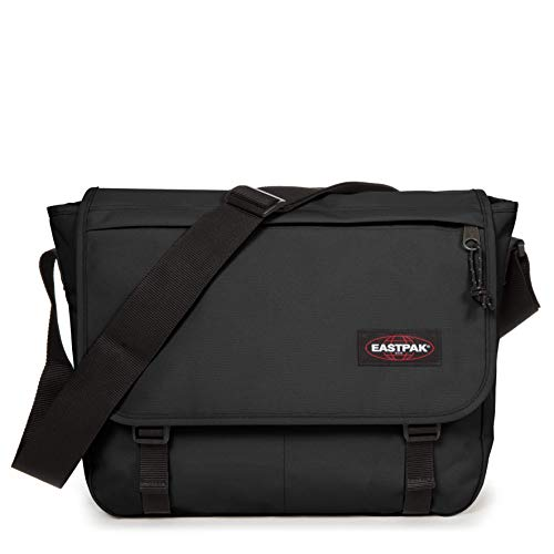Eastpak Delegate + Bolso bandolera, 38 cm, 20 liters, Negro (Black)