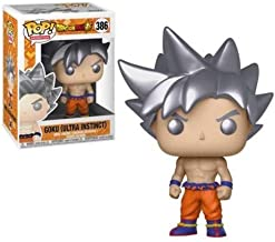 Funko Pop Animation: Dragonball Super - Goku Ultra Instinct Form Collectible Figure, Multicolor