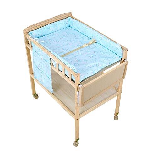 LZQBD Family Care/Baby Dresser Wickeltisch Wickeltisch ändern Pad 0-3 Monate -Tisch mit Badewanne Holzwickeltisch Wickeltisch Neugeborenen-Station (Size : E)