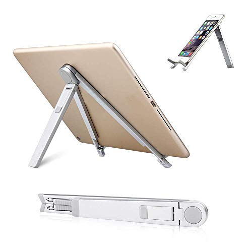JOINVALUE Portable Lightweight Universal Foldable Desk Stand Compatible With IPad, IPad 2, IPad 3 Notebook's, Netbook's & Tablet PC's And All Other 7-10 Inch Tablet PCs