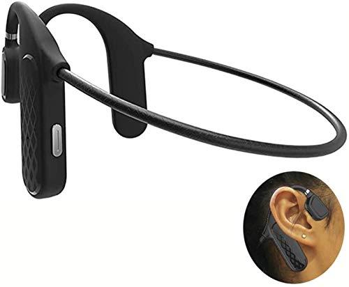 Conducción inalámbrica de Hueso Bluetooth 5.0 Auriculares, Auriculares estéreo de Oreja Abierta Deportes Auriculares, sin Manos Libres