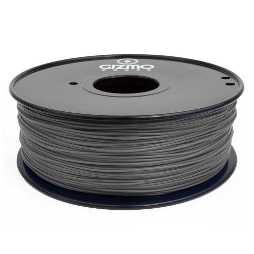 Gizmo Dorks 3mm (2.85mm) Hips Filament 1kg / 2.2lb for 3D Printers, Gray
