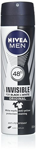 Nivea For Men Invisible Power Anti-Perspirant Spray 150ML (6 Pack)