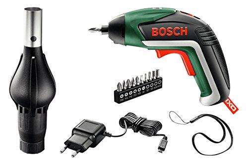 Bosch Akkuschrauber IXO Barbecue Set (3,6 Volt, mit Grillgebläseaufsatz, in Metallverpackung)