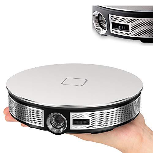 WXJZ mobiele telefoon beamer Android Bluetooth 1280P Mini beamer Full Hd Bluetooth 300'' display videoprojector met HDMI/USB/IR/TF-apparaat smartphone thuisbioscoop