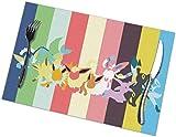 gshihuainingxianruanchaos Tovagliette Po-KE-mons per Tavolo da Pranzo Set di 6 tappetini da Cucina Antiscivolo Lavabili Resistenti alle Macchie