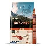 BRAVERY Grain Free Cordero Razas Mini 2 KG