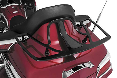 Kuryakyn Luggage Rack Compatible for Gold Wing GL1800 01-19 - Gloss Black