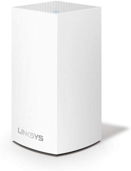 TALLA 1 Pack | 140 m² (max)| 1.2 Gbps. Linksys VLP0101 Velop sistema de mesh Wi-Fi para toda la casa (router/extensor WiFi AC1200, 140 m² de cobertura, controles parentales, 1 nodo, blanco)